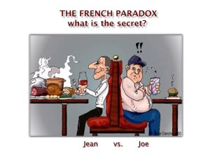 French Paradox red wine