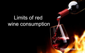 limits of red wine consumption