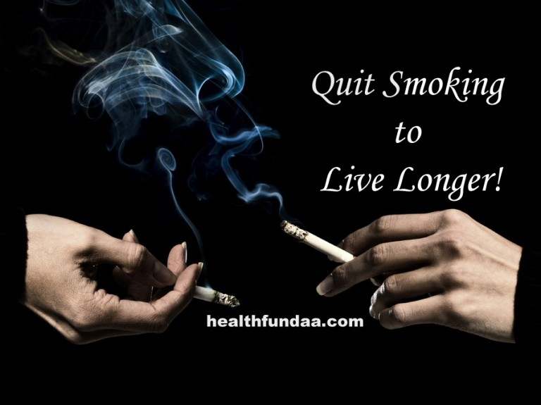 Quit Smoking to Live Longer!
