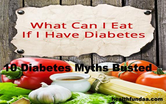 10 Diabetes Myths Busted!