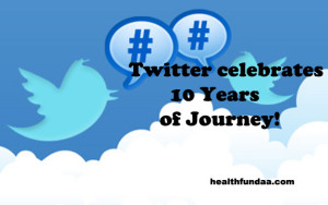 Twitter celebrates 10 Years of Journey!