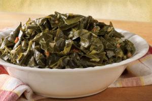 Collard Greens iron rich foods