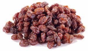 Raisins iron rich foods