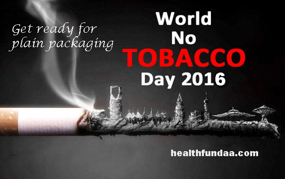 World No Tobacco Day 2016: Get ready for plain packaging