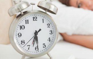 Stick to a sleep schedule sleep deprivation