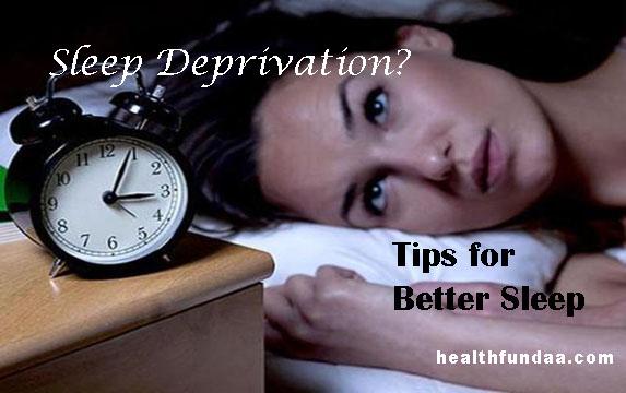 Sleep Deprivation? Tips for Better Sleep