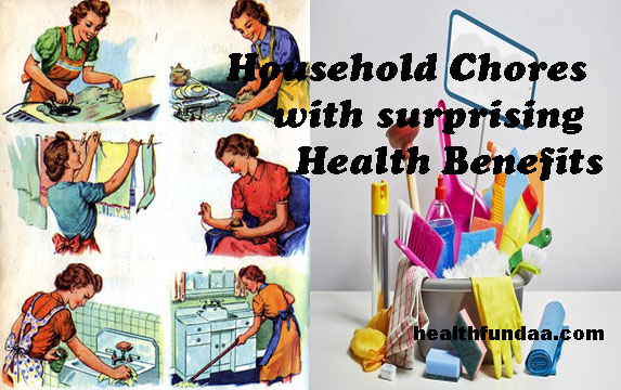 8 Household Chores with surprising Health Benefits