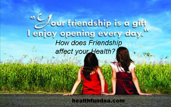 How does Friendship affect your Health?