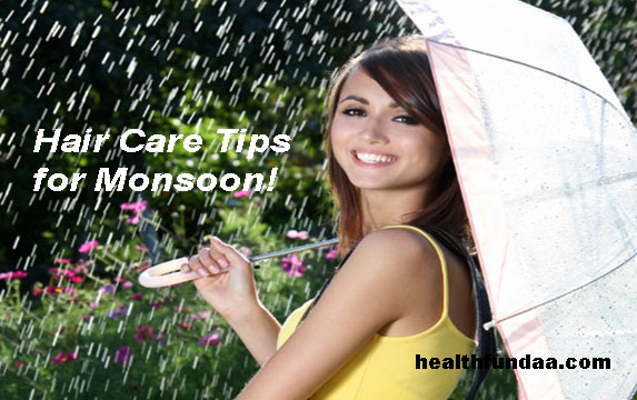 Healthy Hair: Hair Care Tips for Monsoon