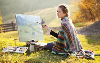 Painting_hobby_stress_depression