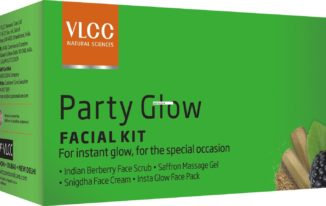vlcc-party-glow-facial-kit how to get glowing skin