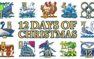 12-days-of-christmas Merry Christmas