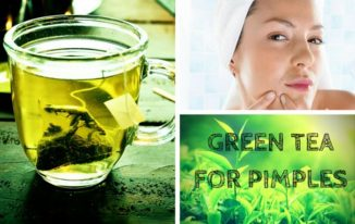 green-tea-for-pimples how to get rid of whiteheads