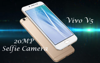 Vivo V5 launched with 20MP Selfie Camera