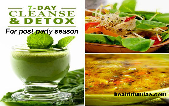 Detox Diet Plan for post party season