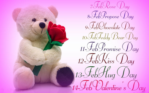 Valentine Week 2017: When is Rose Day, Kiss Day, Hug Day, Valentine's Day?
