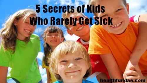 5 Secrets of Kids Who Rarely Get Sick