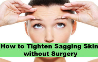 How to Tighten Sagging Skin without Surgery