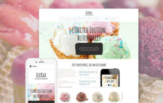 Eye-Candy Sweets Shop and Restaurant Themes