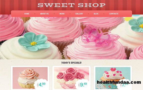 15 Beneficial Eye-Candy Sweets Shop and Restaurant Themes for 2017