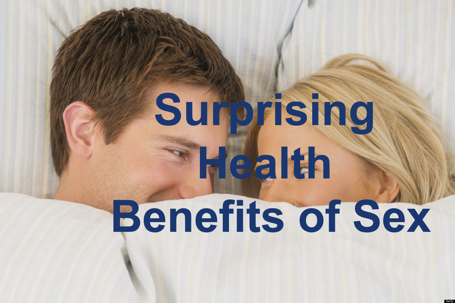 Surprising Health Benefits of Sex