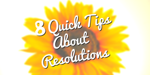 New Year Resolutions tips