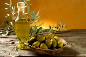 olive-oil aging