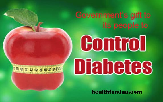 Govt's gift to its people to Control Diabetes