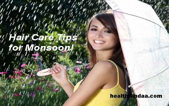 Healthy Hair: Hair Care Tips for Monsoon