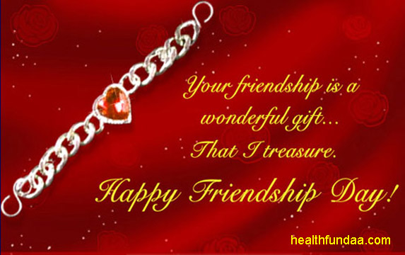 Friendship Day Your Friend Is Your Treasure Health Fundaa