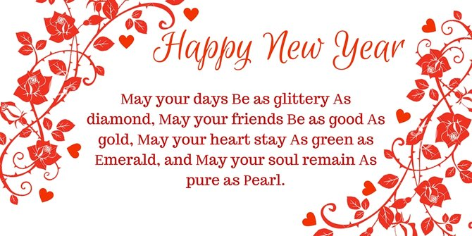 Happy New Year 2018 Wishes, Quotes, Greetings - Health Fundaa