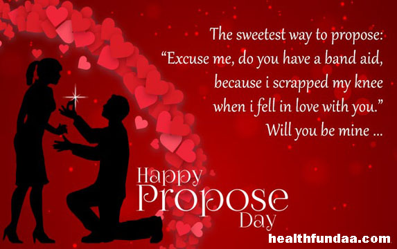 Propose Day 2017 Best Ways To Propose Health Fundaa