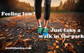 Feeling low? Just take a walk in the park