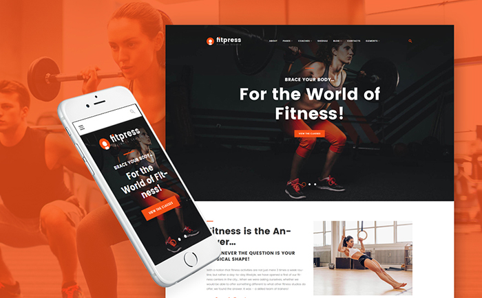 health and beauty WordPress themes