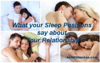 What your Sleep Positions say about Your Relationship