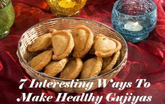 Holi 2018: 7 Interesting Ways To Make Healthy Gujiyas